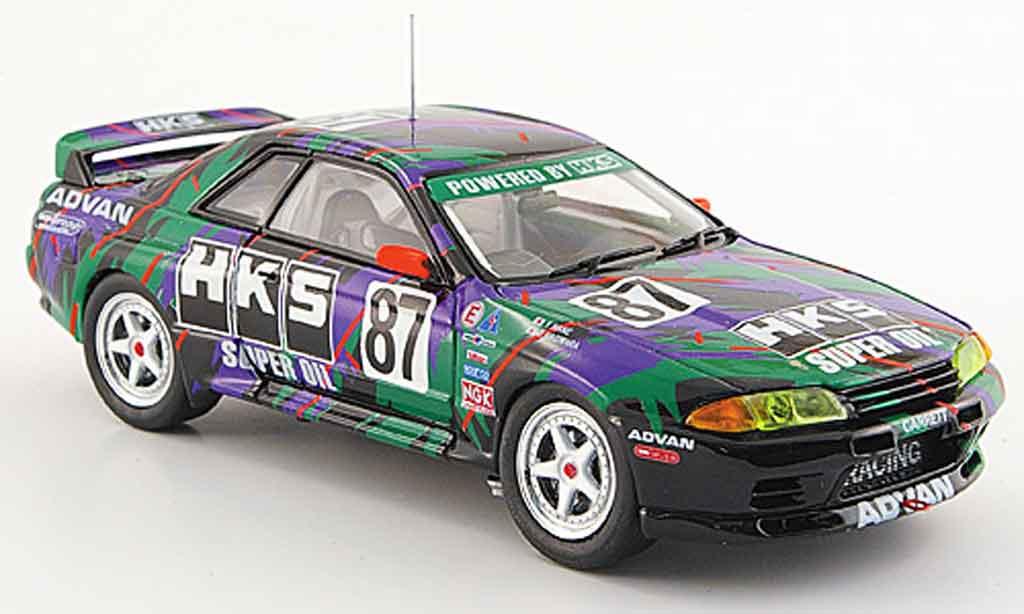 Nissan Skyline R32 1/43 Ebbro GT R Gr.A No.87 HKS 1993 miniature