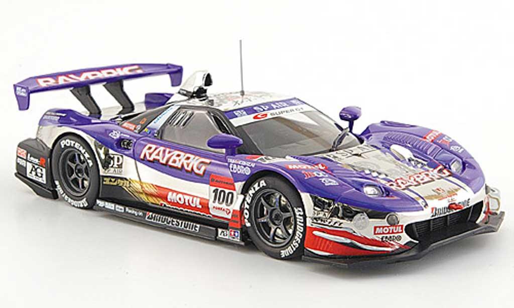 Honda NSX Super GT 1/43 Ebbro SGT 500 No.100 Raybrig 1000 Km Suzuka 2008 diecast