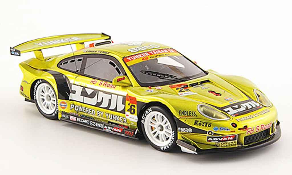 Porsche 997 GT3 CUP 1/43 Ebbro GT3 Cup 2008 No.26 Yunker Super GT 300 diecast model cars