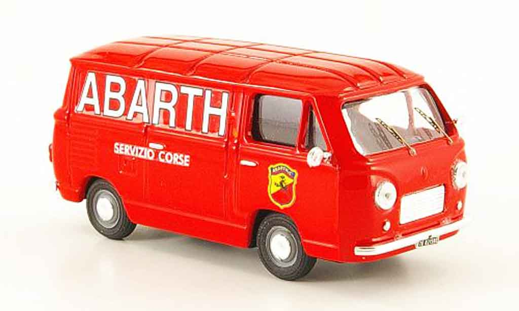 Fiat 600 1/43 Pego T Assistance Racing Abarth 1970 miniature