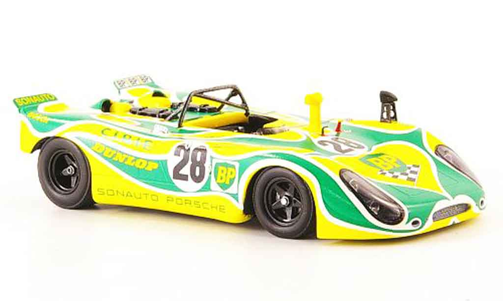 Porsche 908 1971 1/43 Spark No.28 BP 24h Le Mans miniature