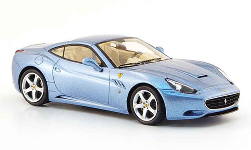 Ferrari California 2008 1/43 Red Line 2008 bleu geschlossen miniature