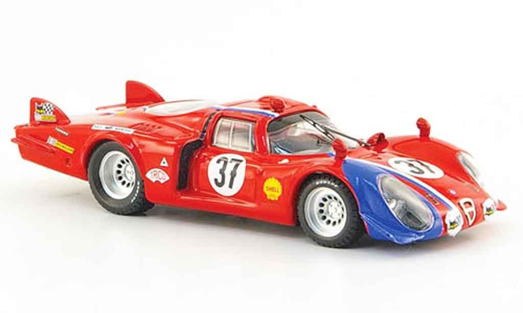 Alfa Romeo 33.2 1968 1/43 Best c no.37 pilette slotemakers 24h le mans miniature