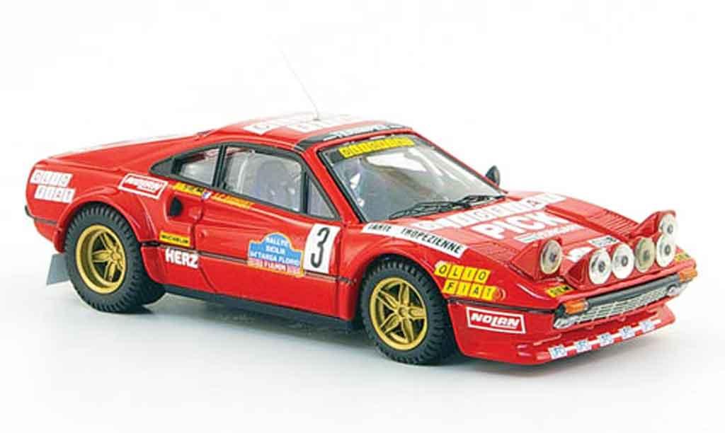 Ferrari 308 GTB 1/43 Best gr.4 no.3 andruet biche targa florio 1980 diecast model cars