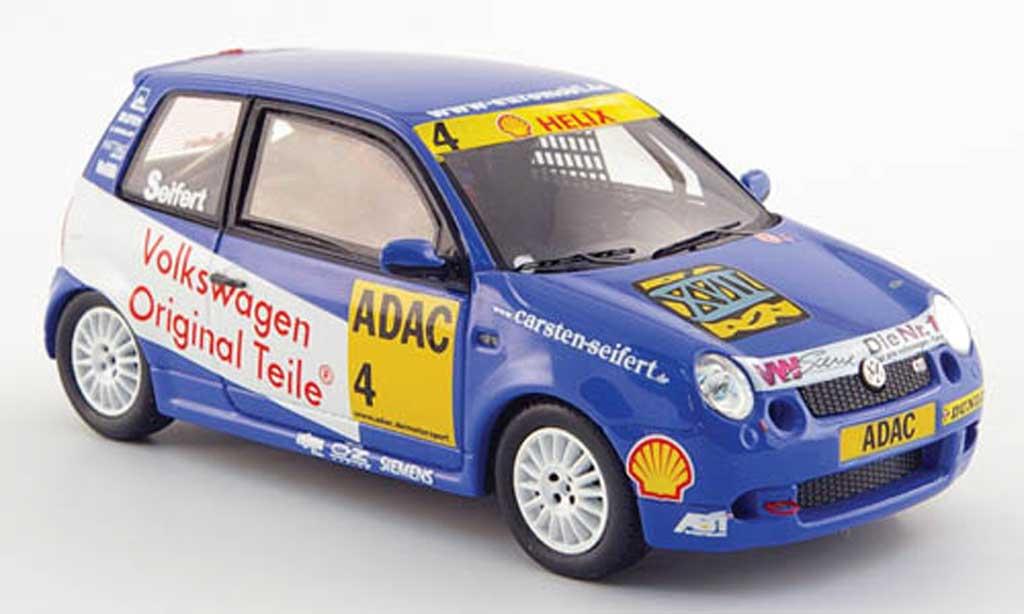 Volkswagen Lupo 1/43 Spark GTI No.4 Original Teile -Cup 2001 miniature