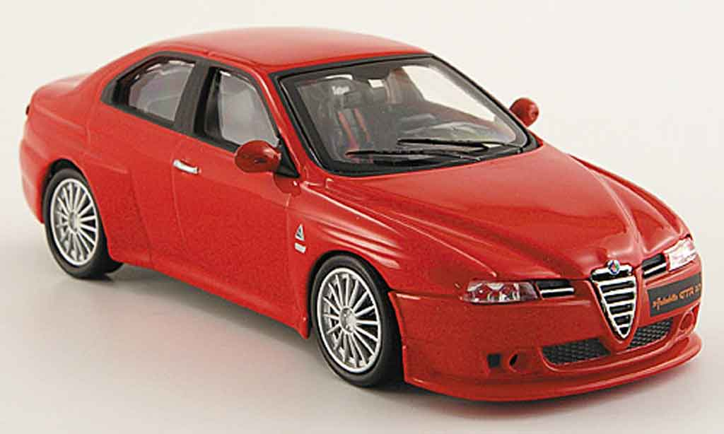 Alfa Romeo 156 GTA 1/43 M4 gta 3.7 autodelta rouge miniature
