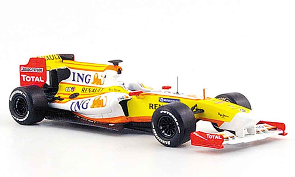 Renault F1 1/43 Provence Moulage r 29 no.7 ing f.alonso 2009 miniature