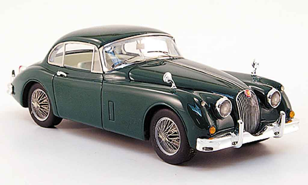 Jaguar XK 150 1/43 Twincam coupe grun rhd 1958 diecast model cars