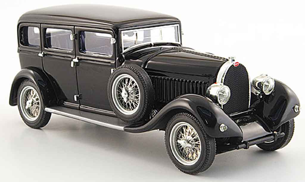 Porsche 930 1/43 Luxcar limousine noire 1930 miniature