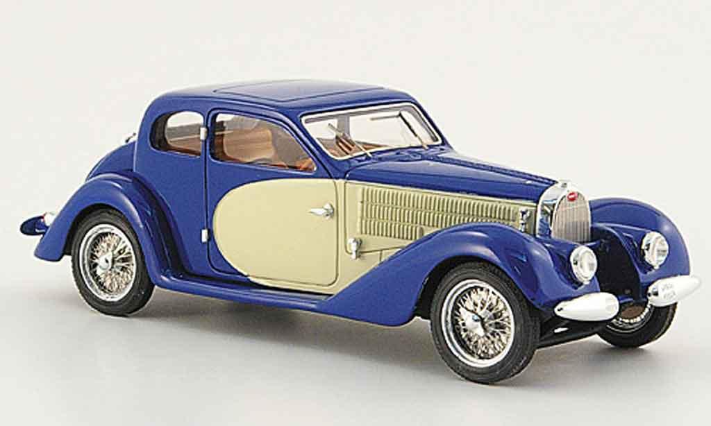Bugatti 57 SC 1/43 Luxcar ventoux bleu blanche 1938 miniature