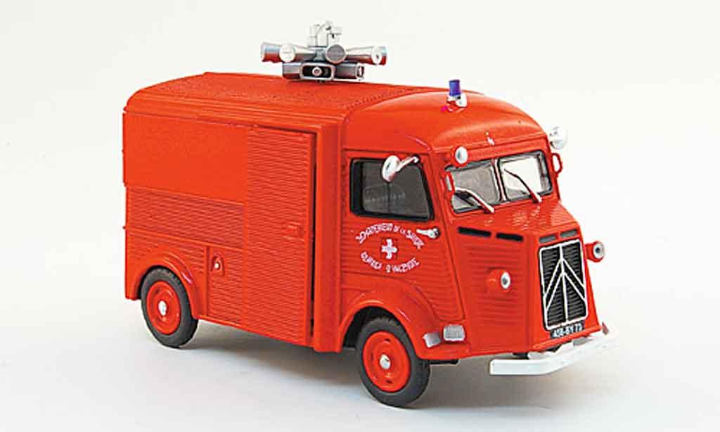 Citroen Type HY 1/43 Eligor kasten pompier 1958 miniature