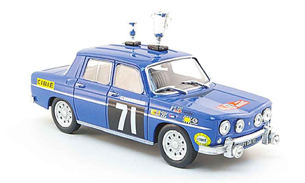 Renault 8 Gordini 1/43 Eligor no.71 rallye marokko 1968 miniature