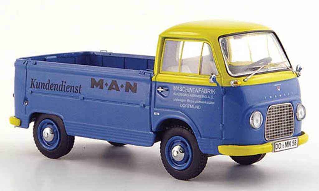 Ford Taunus 1/43 Schuco Transit FK 1000 MAN Kundendienst diecast
