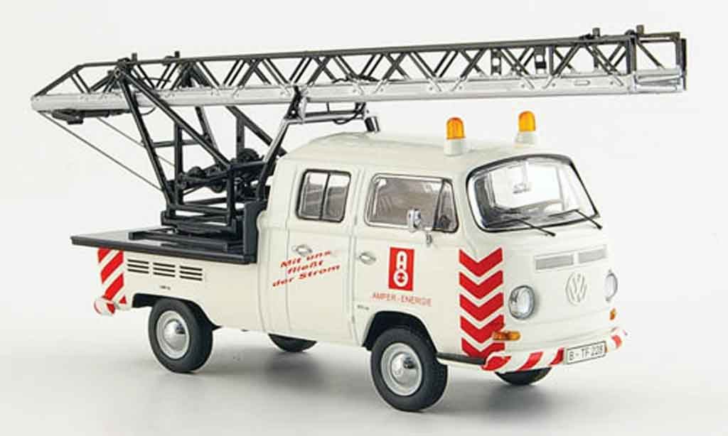 Volkswagen Combi 1/43 Schuco t 2a amper energie leiteraufbau diecast