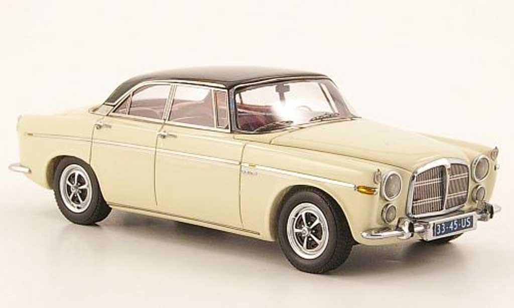 Rover P5B 1/43 Neo Coupe blanc creme/noire-gris 1971 miniature