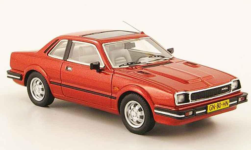 Honda Prelude 1/43 Neo MkI rouge 1983 miniature