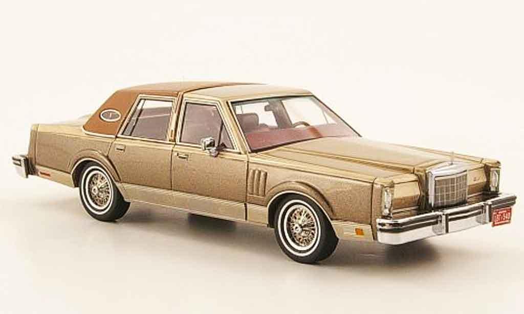 Lincoln Continental 1979 1/43 Neo MK VI Limousine grau or marron modellautos