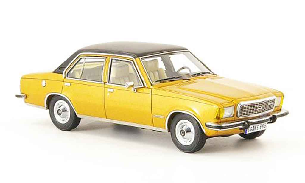 Opel Commodore B 1/43 Neo or noire 4 turig 1973 miniature