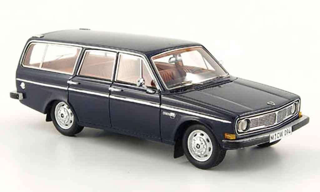 Volvo 145 1/43 Neo bleu 1971 miniature