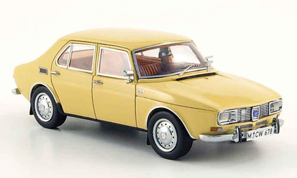 Saab 99 1/43 Neo beige 4 turig edition liavecee 300 1971 miniature