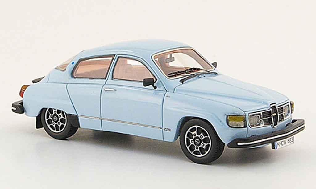 Saab 96 1/43 Neo bleu edition liavecee 300 1979 miniature