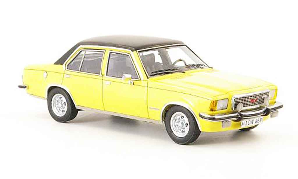 Opel Commodore B 1/43 Neo gs e jaune noire lim. auflage 1973 miniature