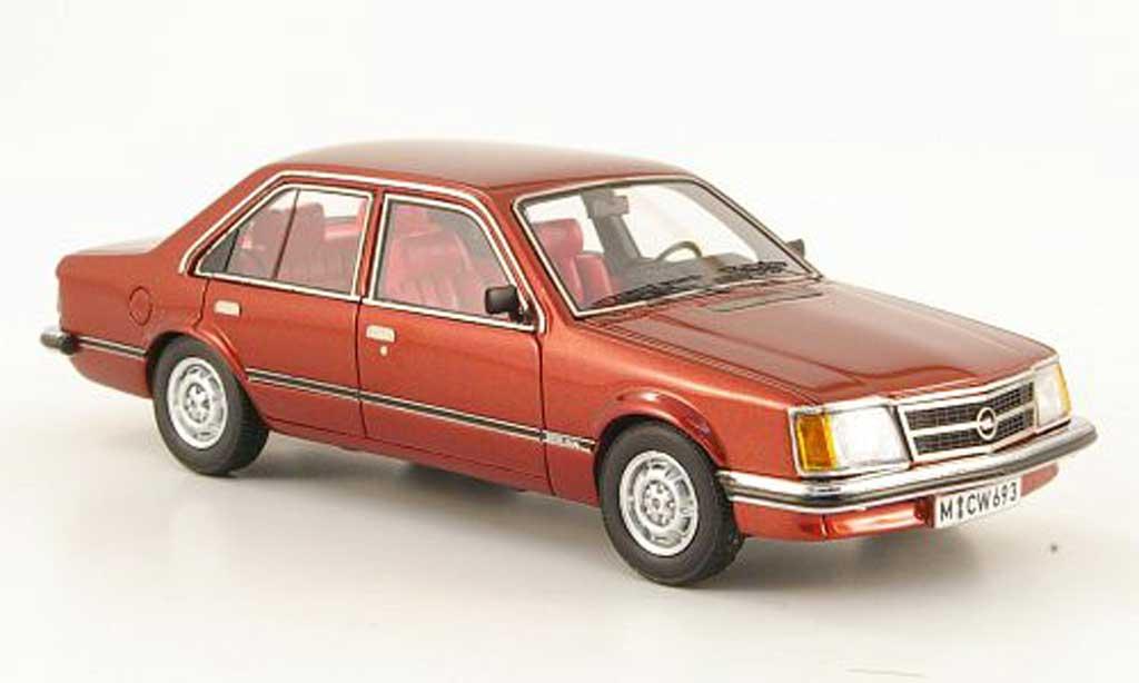 Opel Commodore C 1/43 Neo 2.5 S roja 4-portes lim. Aufl. 300 1978 miniatura