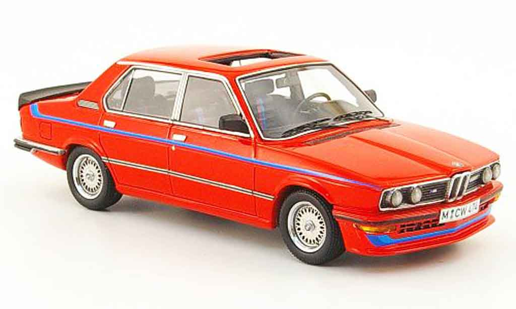 Bmw M5 E12 1/43 Neo 535i rouge edition liavecee 300 1980 miniature