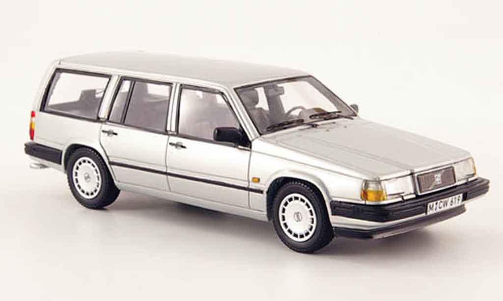 Volvo 940 1/43 Neo GL Kombi grise 1992 miniature