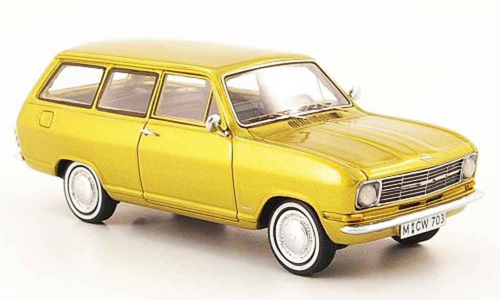 Opel Kadett B 1/43 Neo caravan or edition liavecee 300 miniature