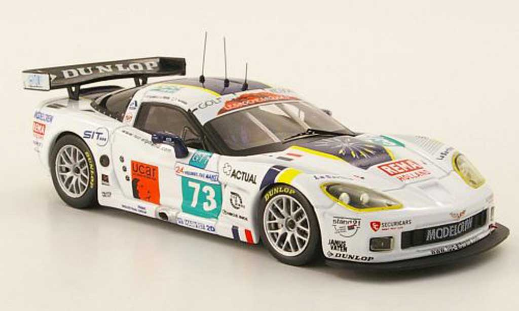 Chevrolet Corvette C6 1/43 IXO R No.73 24h Le Mans 2009 diecast model cars