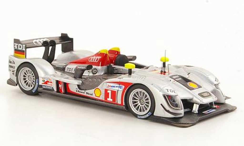 Audi R15 2009 1/43 IXO TDI No.1 R.Capello / T.Kristensen / A.McNish 24h Le Mans miniature