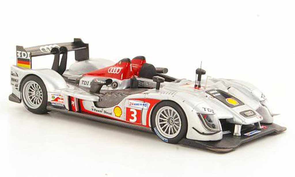 Audi R15 2009 1/43 IXO TDI No.3 T.Bernhard / R.Dumas / A.Premat 24h Le Mans miniature