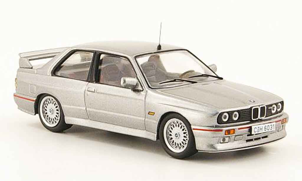 Bmw M3 E30 1/43 IXO Sport Evolution gray metallisee gray 1990 diecast