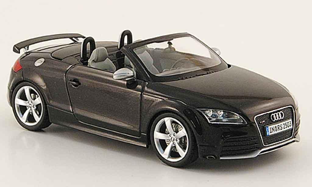 Audi TT RS 1/43 Schuco Roadster noire 2009 miniature