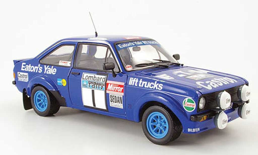 Ford Escort MK2 1/18 Sun Star rs no.1 eaton yale sieger rallye gb 1979 miniature