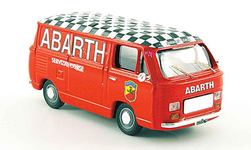 Fiat 900 1/43 Pego T Abarth Rennservice Kasten 1979 miniature