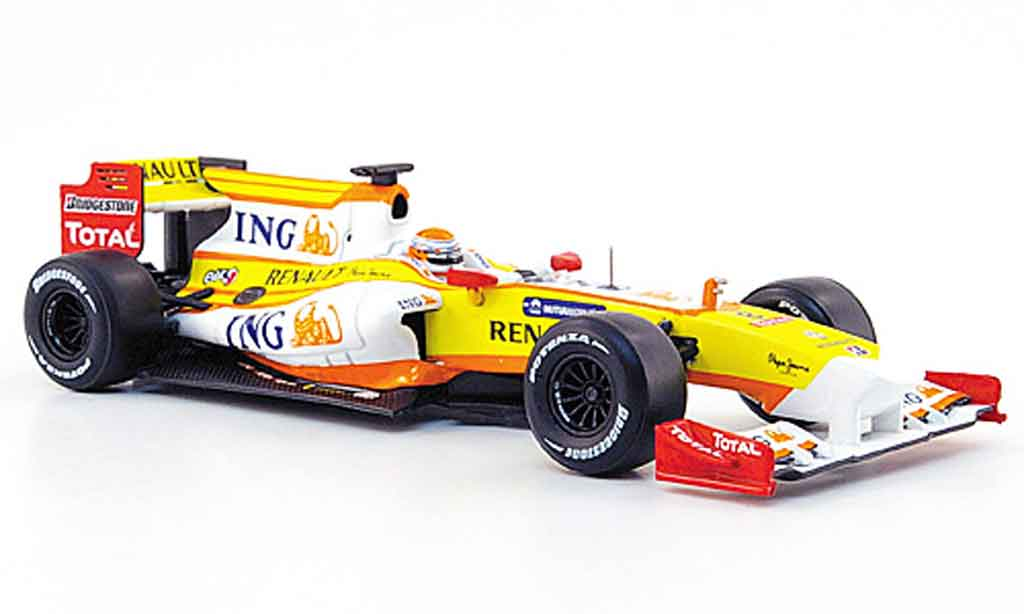Renault F1 1/43 Norev r 29 no.8 ing formel 1 2009 miniature