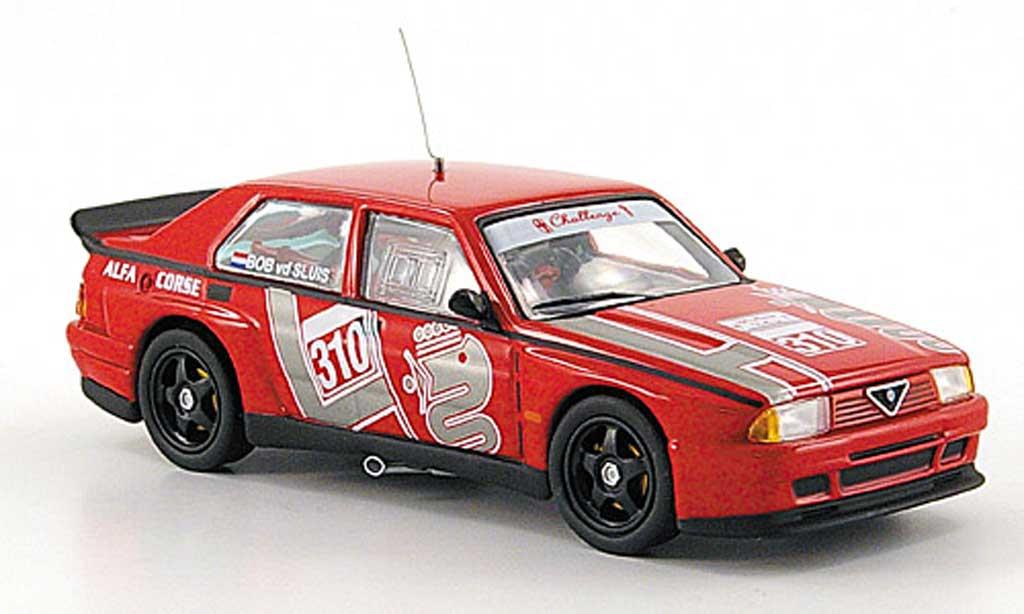 Alfa Romeo 75 Evoluzione 1/43 M4 Turbo No.310 Europameisterschaft 1988 miniature