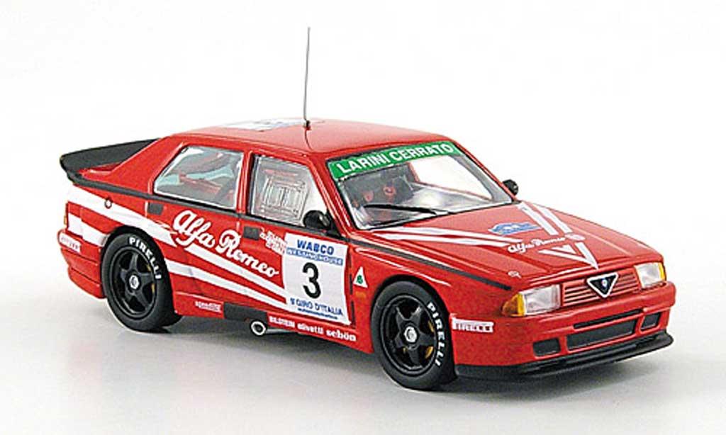 Alfa Romeo 75 Evoluzione 1/43 M4 Turbo No.3 Giro de Italia 1988 Francia/Cerrato/Cerri miniatura