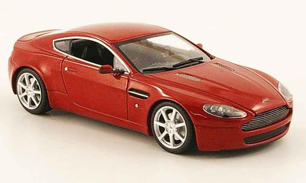 Aston Martin V8 Vantage 1/43 Minichamps red 2005 diecast