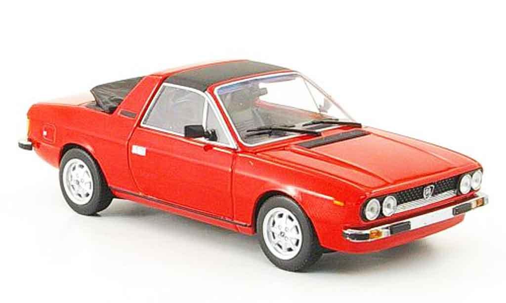 Lancia Beta Monte Carlo 1/43 Minichamps spider rouge 1980 miniature