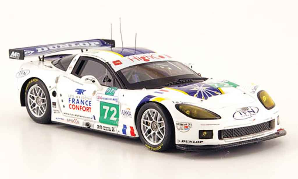 Chevrolet Corvette C6 1/43 Spark R No.72 24h Le Mans 2009 diecast model cars