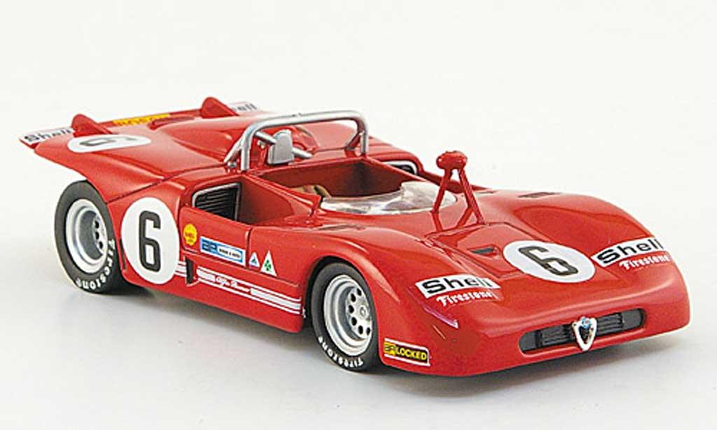 Alfa Romeo 33.3 1971 1/43 M4 No.6 Stommelen/Kinnunen Targa Florio miniature
