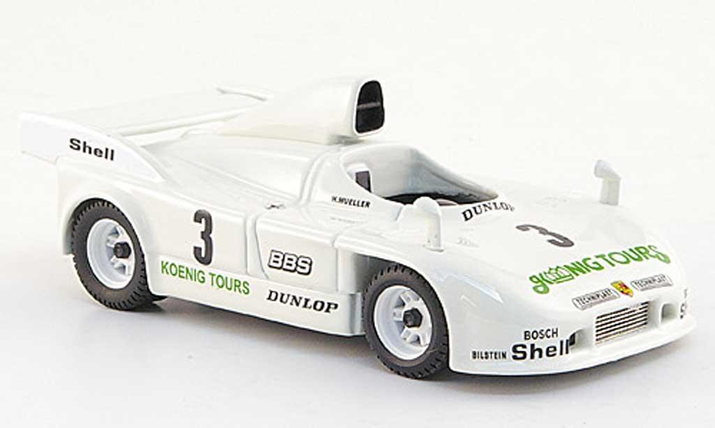 Porsche 908 1981 1/43 Best No.3 Konig Tours Muller/Brun Nurburgring miniature