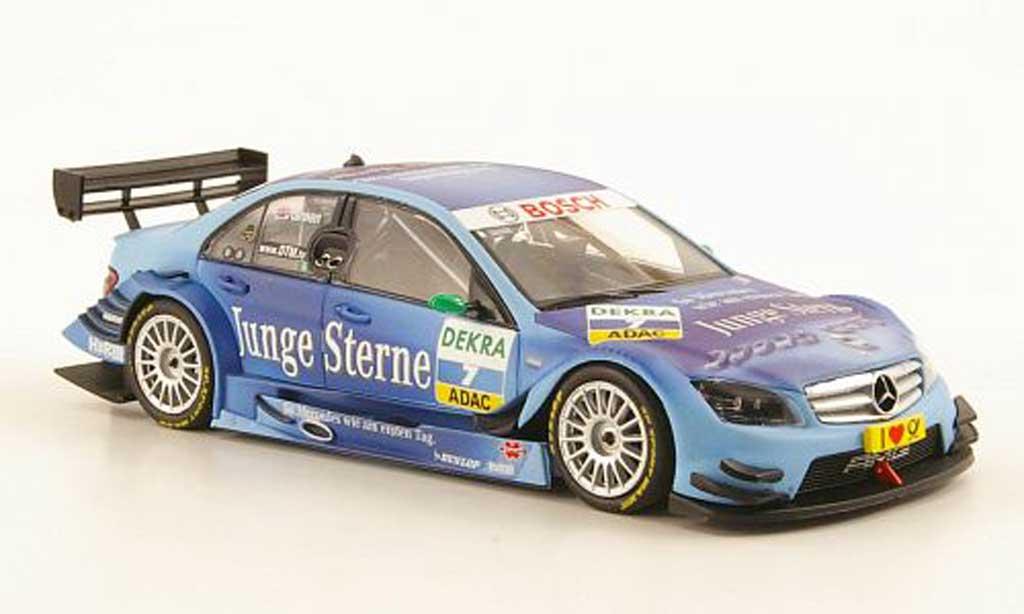 Mercedes Classe C DTM 1/43 Minichamps (2008) No.7 Junge Sterne J.Green Saison 2009 miniature