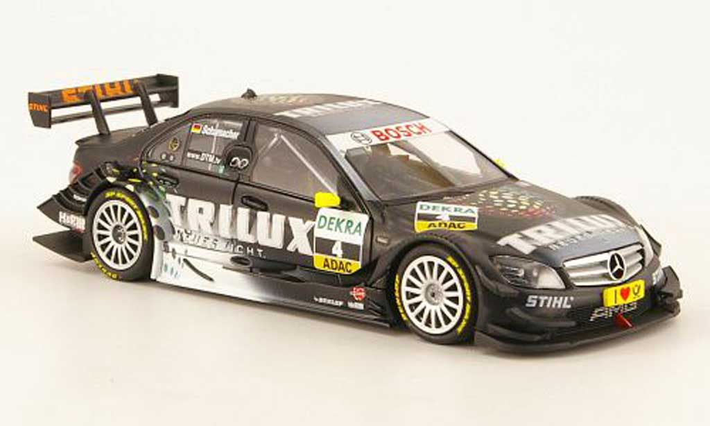 Mercedes Classe C DTM 1/43 Minichamps No.4 TriluxTeam AMG-2009 miniature