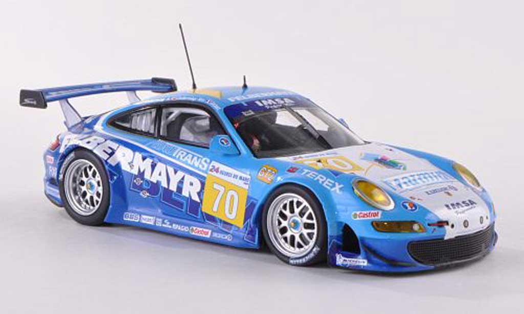 Porsche 997 GT3 RSR 1/43 Minichamps 2009 No.70 Felbermayr 24h Le Mans Felbermayr/Felbermayr/Lecourt miniature