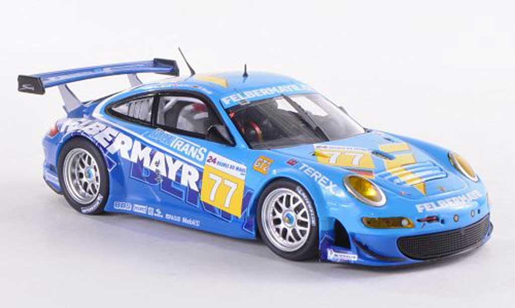 Porsche 997 GT3 RSR 1/43 Minichamps 2009 No.77 Felbermayr 24h Le Mans Lieb/Lietz/Henzler diecast model cars