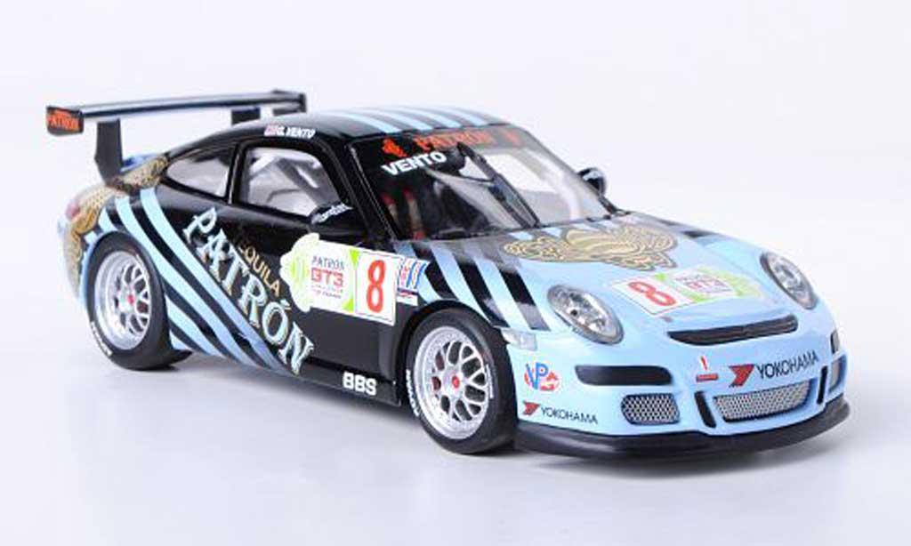 Porsche 997 GT3 Cup 2009 1/43 Minichamps No.8 G.Vento IMSA GT3 Cup Challenge miniatura